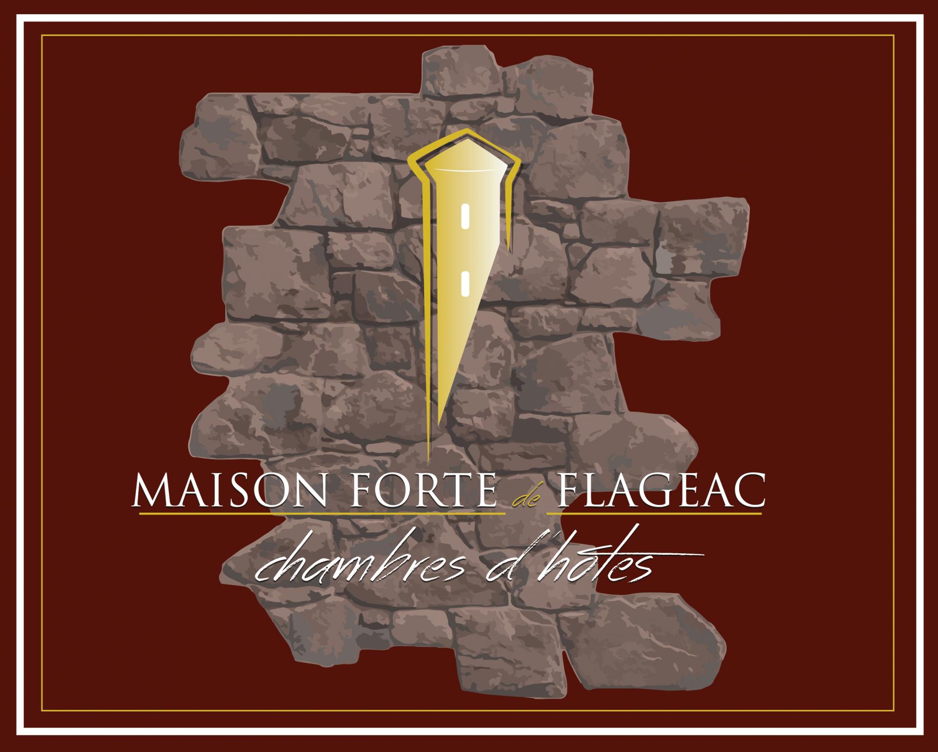 logo maison forte de flageac